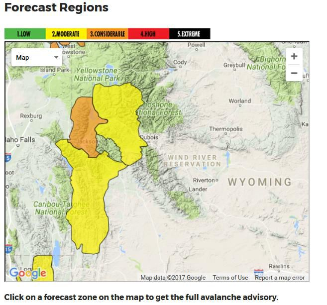 Web Site Map: Avalanche Safety For The Rest Of Us