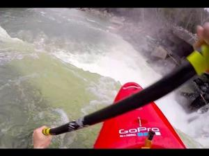 GoPro: Nick Troutman kayaking off Cumberland Falls, KY