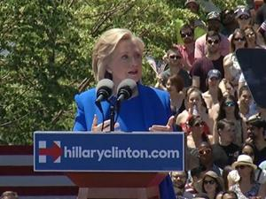 Clinton Speech Pushes 'Shared Prosperity'