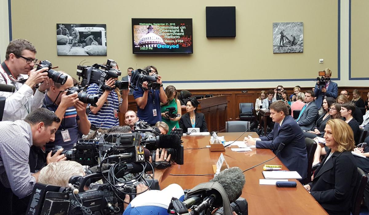 Mylan CEO takes lumps before Congress on EpiPen price