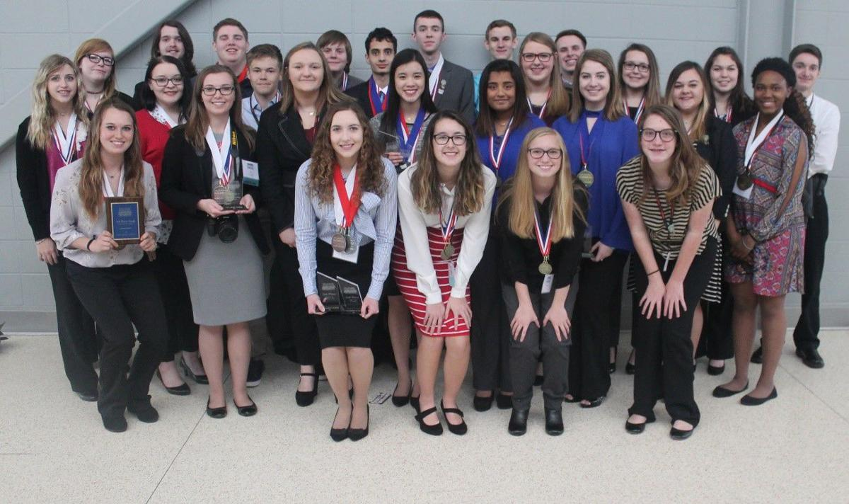 Pontotoc County BPA chapters attend state conference
