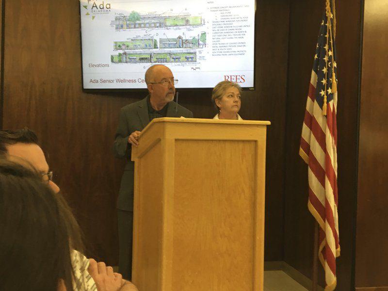 City unveils preliminary design for senior center