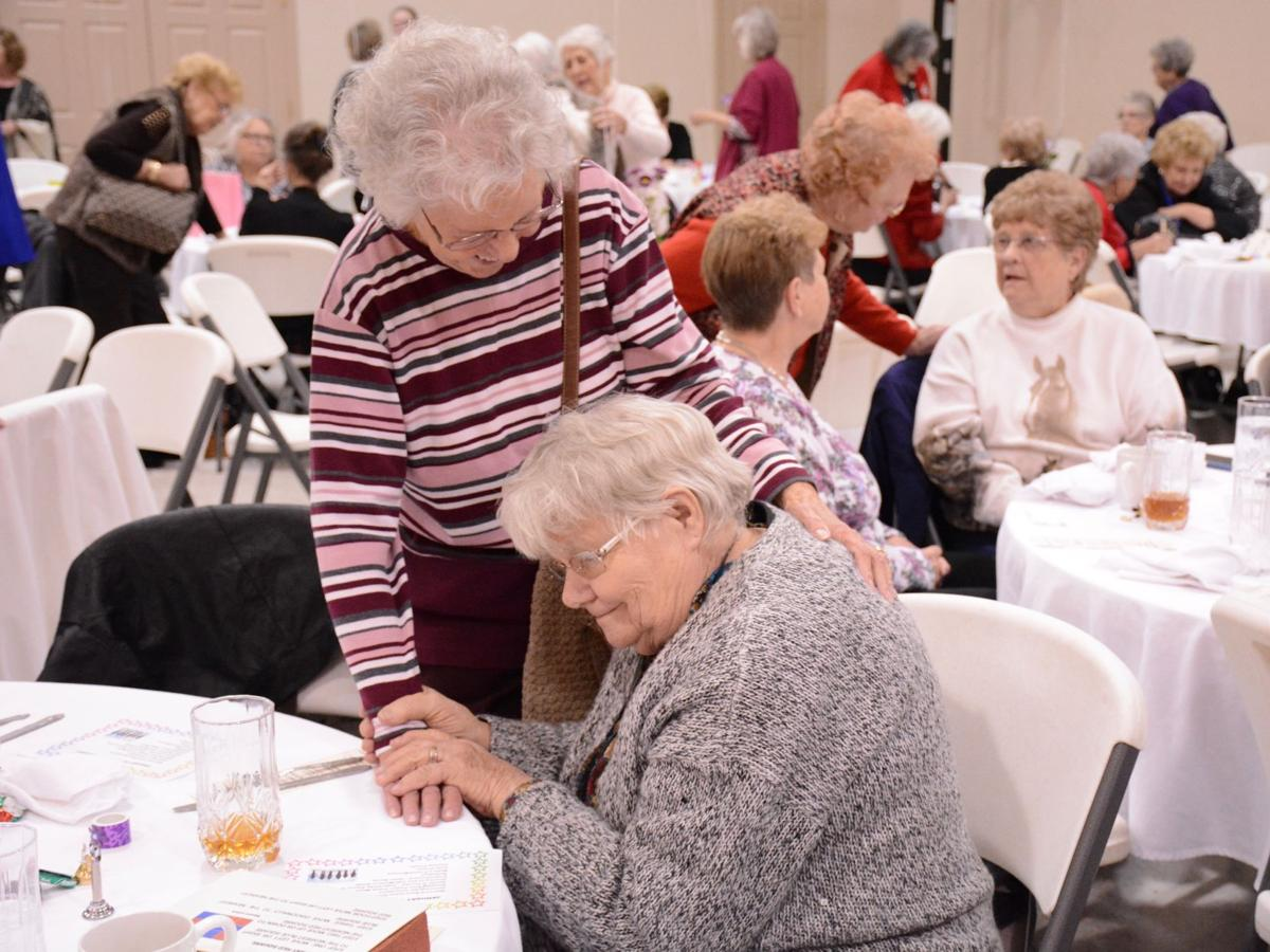One year in, widows' banquets prove to be popular, successful