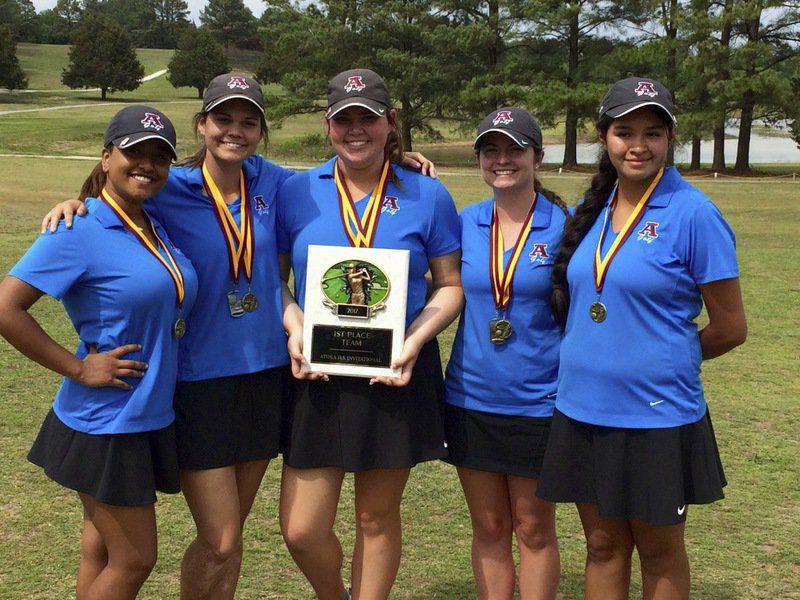Ada girls golf team