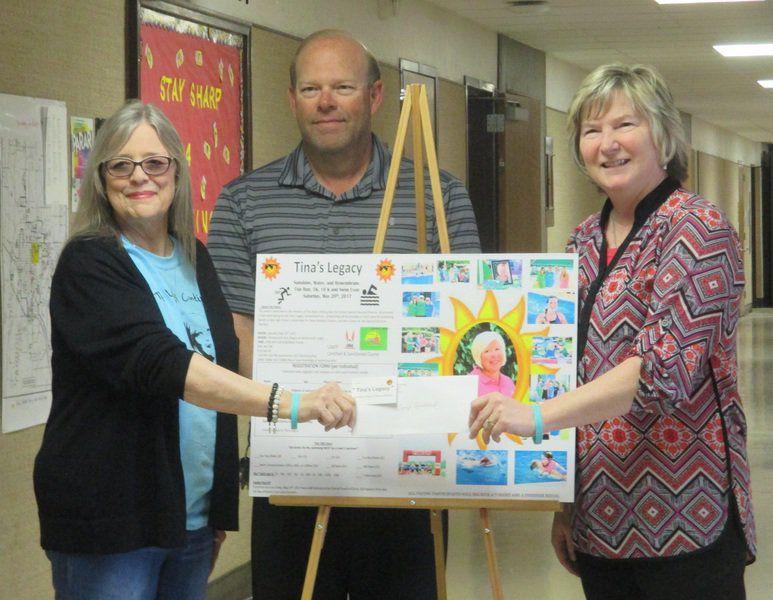 Tina's Legacy donation made to Willard