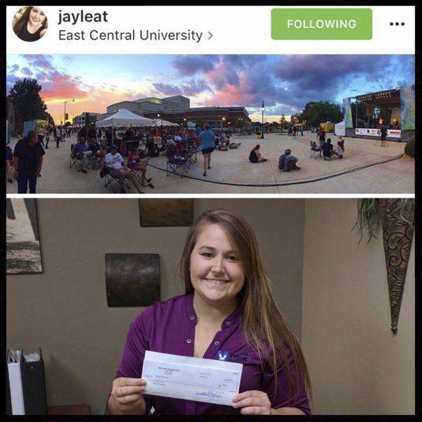 Jaylea Thompson is August AJF contest winner