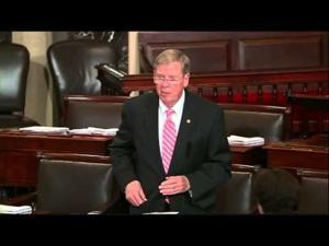 Isakson Honors Woody Woodside on the Senate Floor