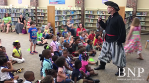 The Story Ship at Brunswick-Glynn County Library summer reading program
