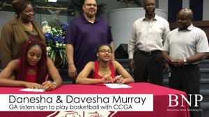 Murray twins sign national letters of intent