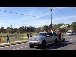 Brunswick High School state championship celebration parade