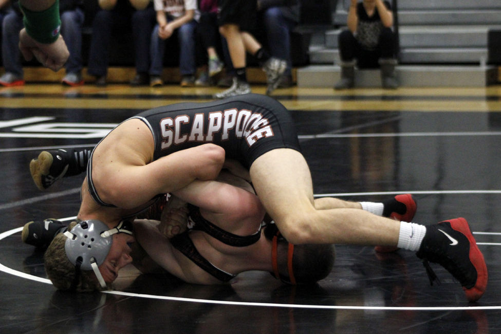 Wrestling Tribe Wins Tune Up Before League Championships