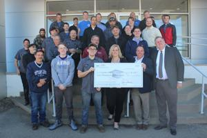 Haynes receives scholarship from state automotive association