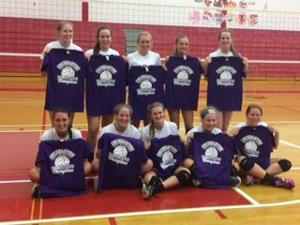 Volleyball wins Cochranton tournament, remains undefeated