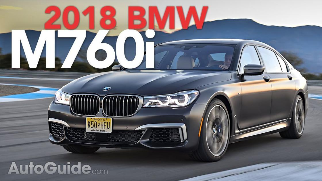 2018 bmw m760i review todays wheels. Black Bedroom Furniture Sets. Home Design Ideas