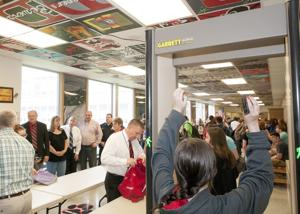 Security screeners at DAHS