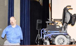 Motivational speaker visits DuBois