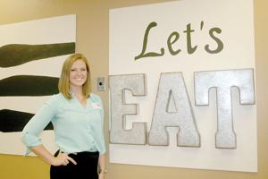 <p>Kendra Keller, RD,LD is the director of food and nutrition at Morrison's Cafeteria inside Highlands Medical Center in Scottsboro.</p>