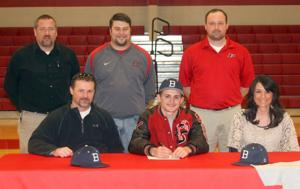 Signing with Berry College