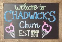 Chadwick's Churn Gourmet Ice Cream
