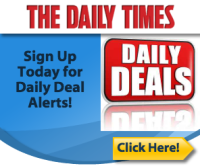 The Daily Times' Daily Deals