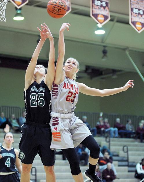 big third quarter leads maryville college women to win