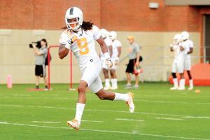 Von Pearson at Tennessee practice