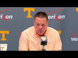 Butch Jones Press Conference - 11.17.14