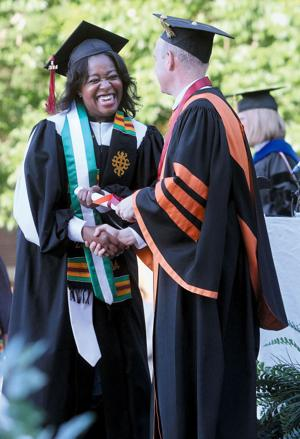 Onyeka Ononye graduates from Maryville College