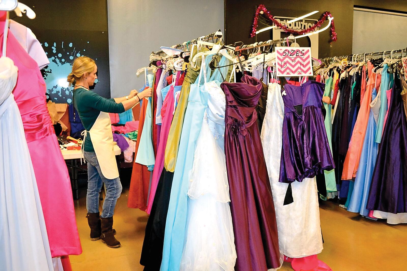 Prom dress revolution church