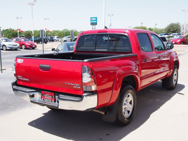 2012 Barcelona Red Metallic Toyota Tacoma The Eagle Truck