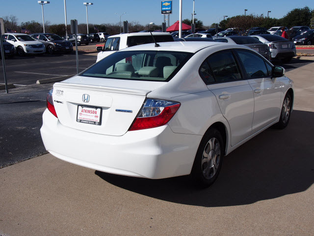 2012 taffeta white honda civic hybrid the eagle sedan for 2012 honda civic white
