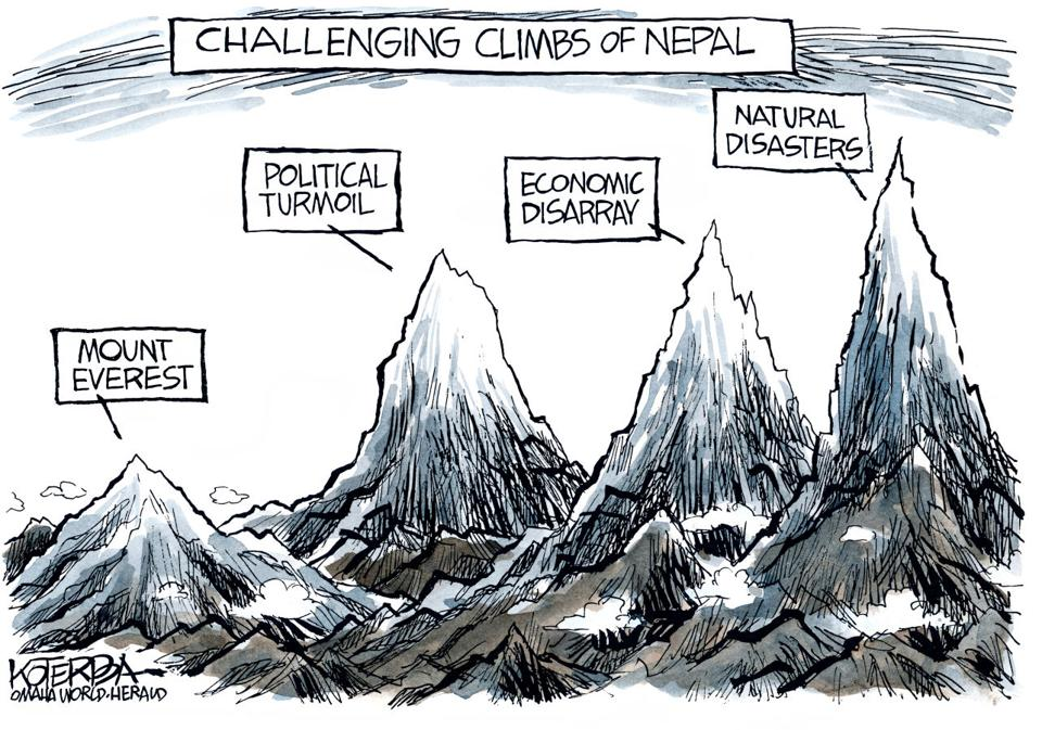 Earthquake Pictures Cartoon Cartoon Nepal Earthquake