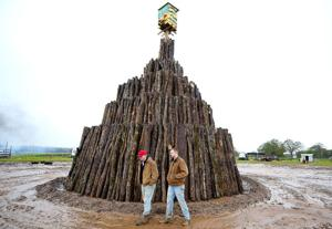 Student bonfire to light the night on Tuesday