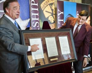 Aggies recognize longtime Alabama Coach Bear Bryant for time at Texas A&M