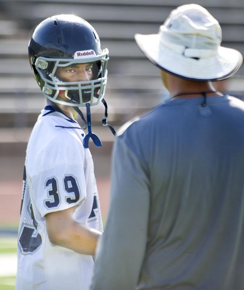 First Day For B-CS High School Football Practice