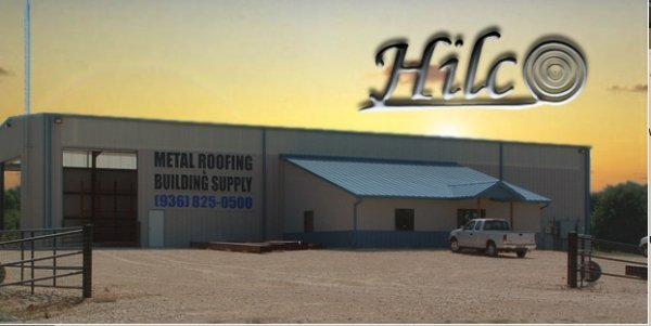 Hilco Metal Roof Supply Amp Service Navasota Tx