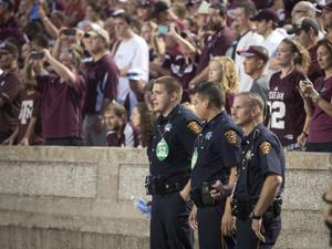 Law enforcement agencies team up to keep Kyle Field secure