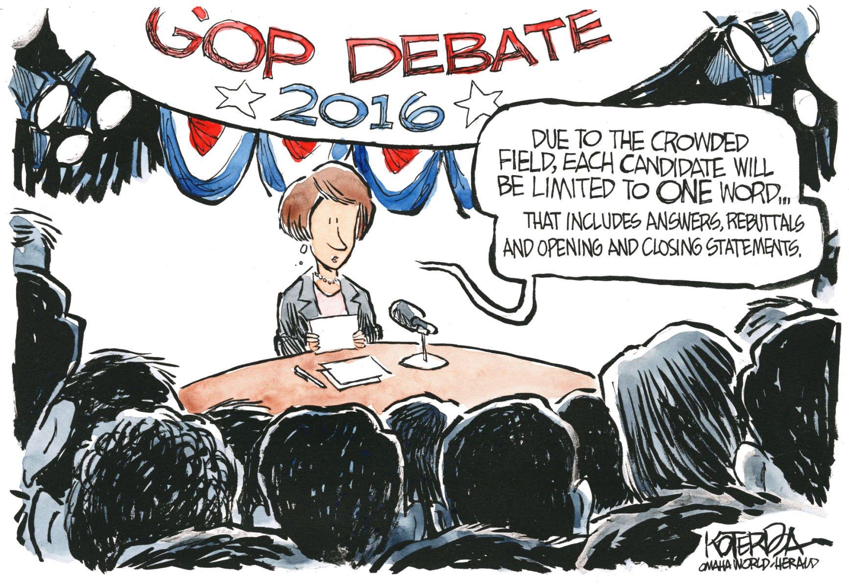 Debates vs. debates