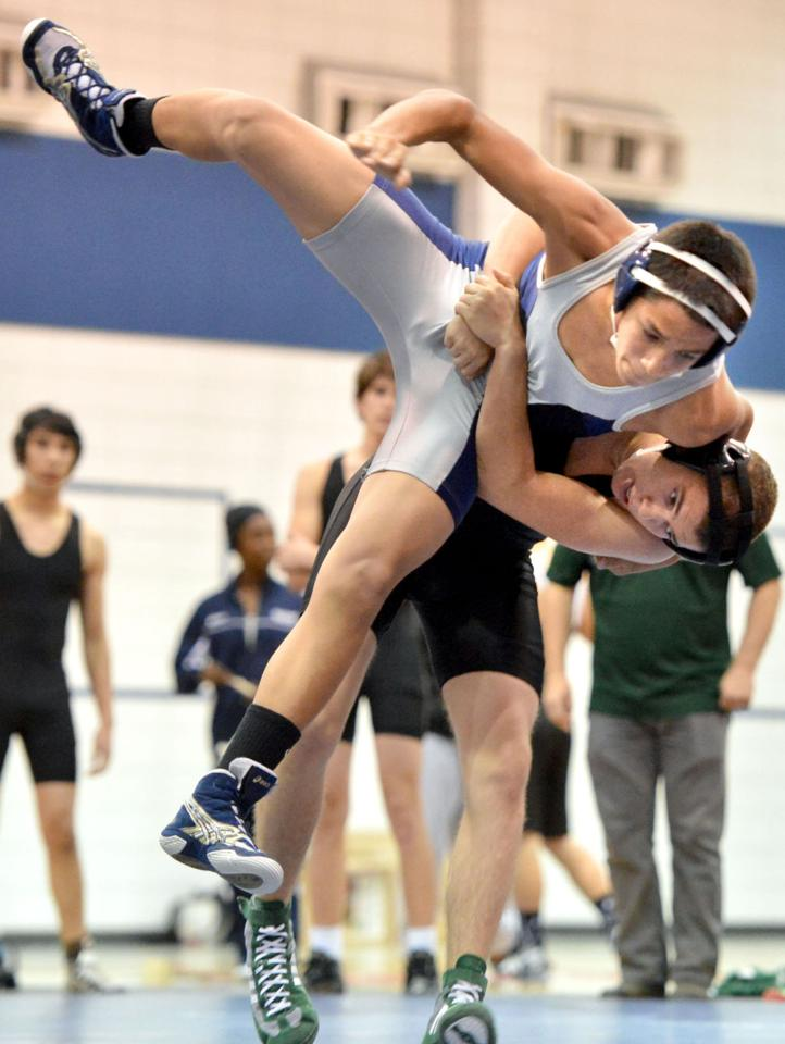 Bryan Boys Wrestling Team Splits Pair Of District Matches