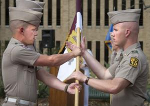 Reactivation of Corps outfits unites former, current cadets
