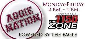 AGGIE NATION RADIO SHOW ON KZNE