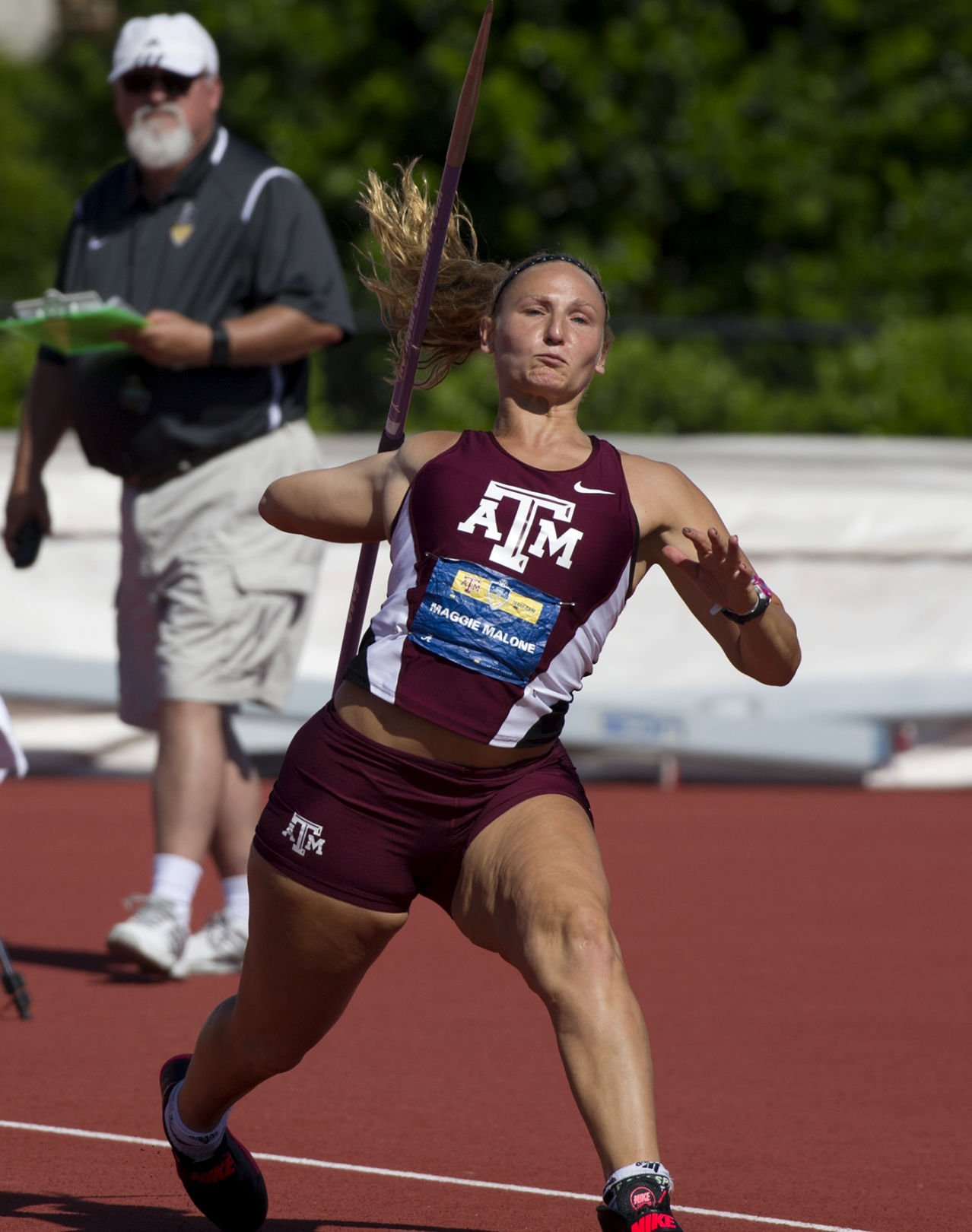 Maggie Malone track and field