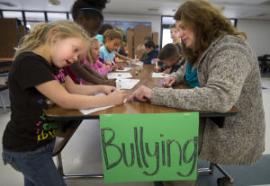 After-school program teaching kids to stop bullying