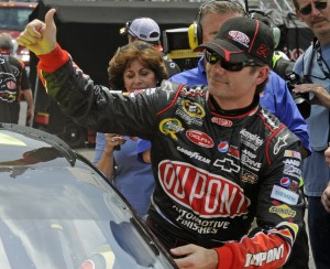 Jeff Gordon wins pole at Talladega