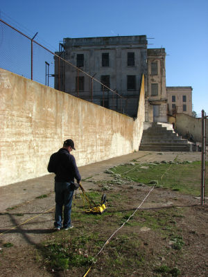 Texas A&M research team using radar to recreate underground tunnels at Alcatraz