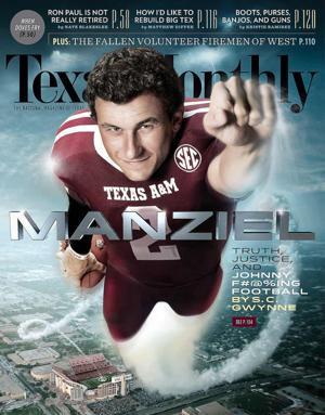 Cover Boy: Johnny Manziel a popular subject for magazines