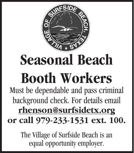 Surfside Hiring Booth Workers