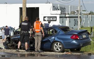 Accident near Diamond Truck Wash on Highway 281