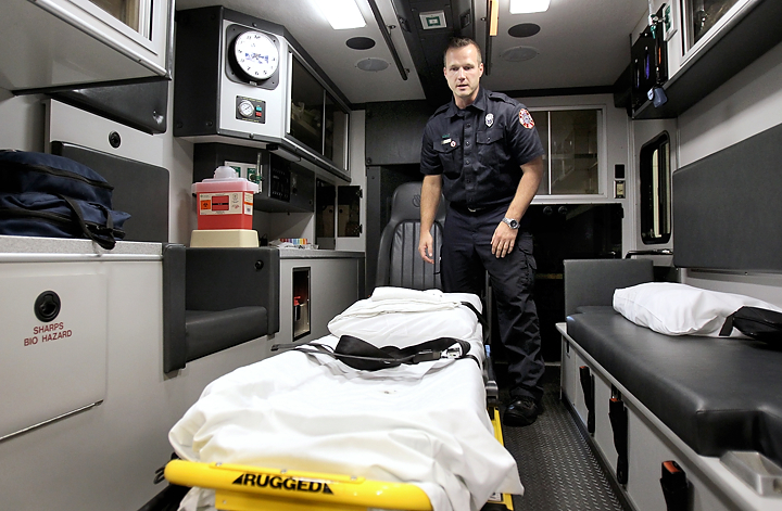 Fire Department unveils newest ambulance | Local News ...