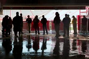 Red-White game canceled